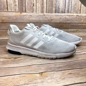 Adidas Cloudform Racer TR light grey sneakers 10.5
